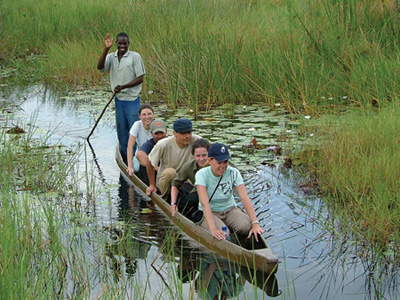 Outdoors in Botswana: Safari im Okavango Delta
