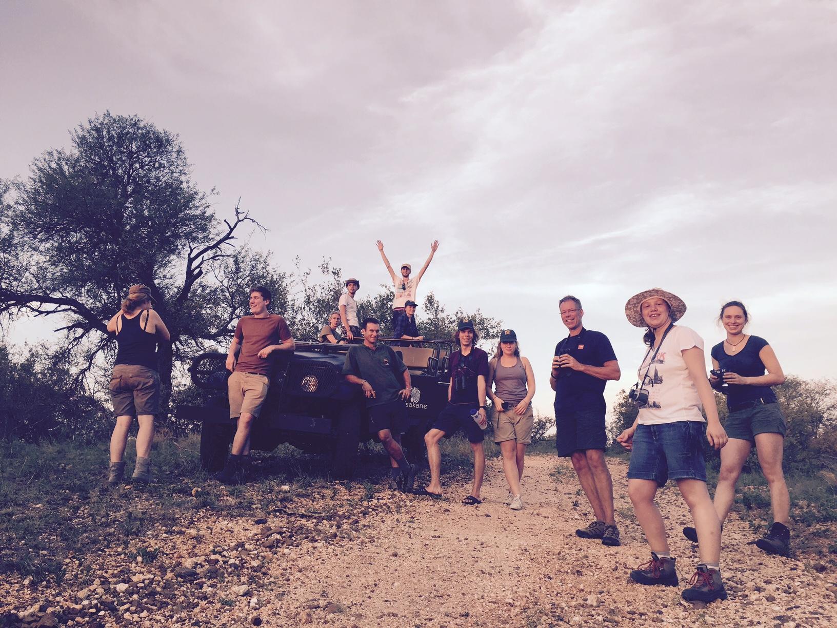 Deutschsprachig im Greater Kruger Nationalpark Südafrikas auf Safari